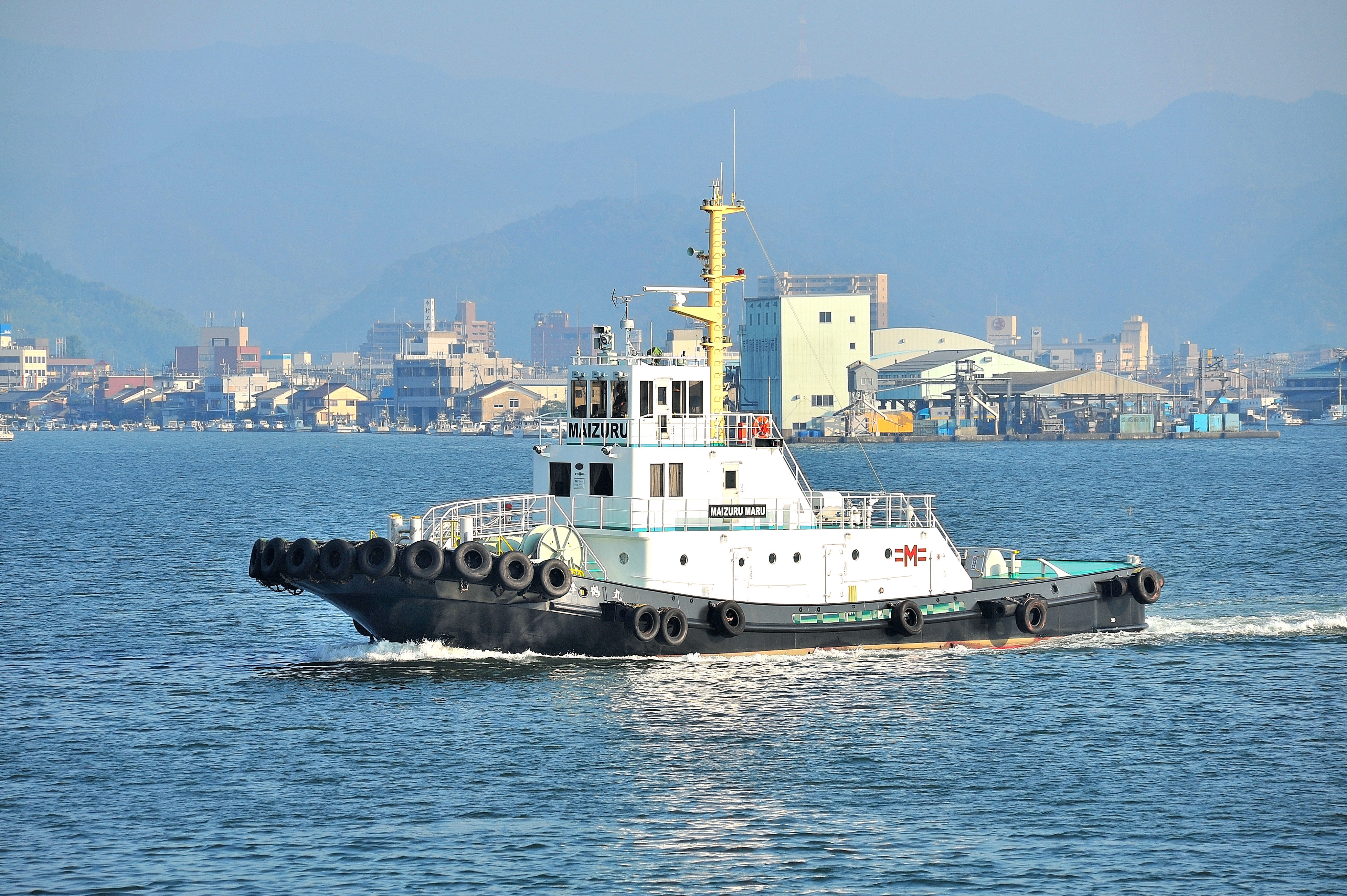 舞鶴曳船ホームページへようこそ